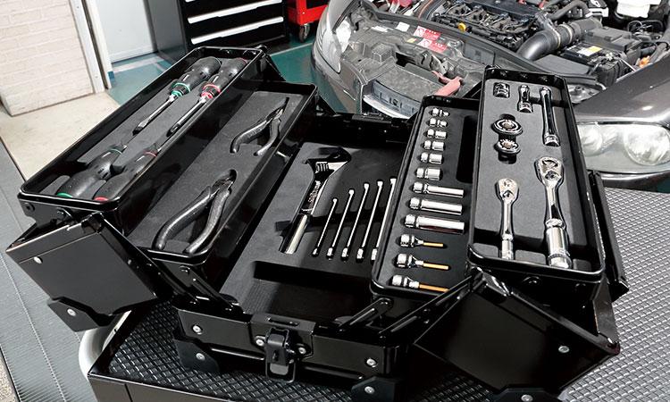【京都機械工具株式会社】ネプロス 両開きツールセット2種を新発売の画像