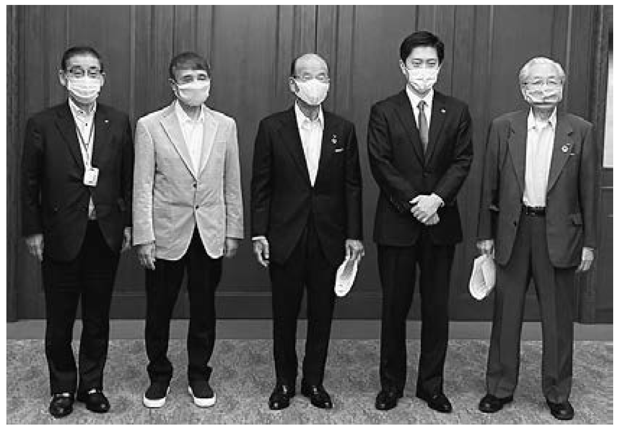 【大光電機】新型コロナウイルス助け合い基金 1000万円を寄付の画像