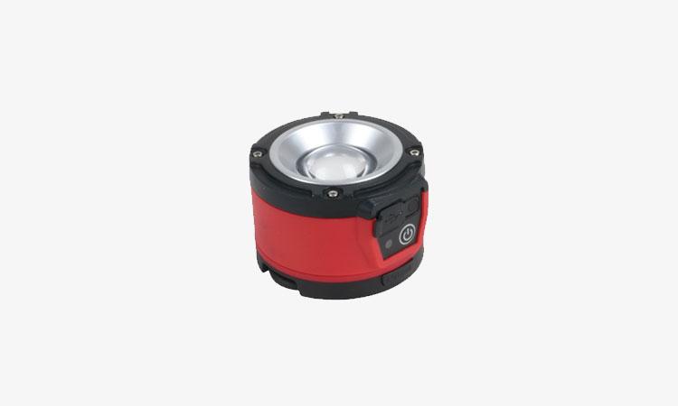 【ジェフコム株式会社】リチウムイオン電池内蔵の円形LEDライトの画像