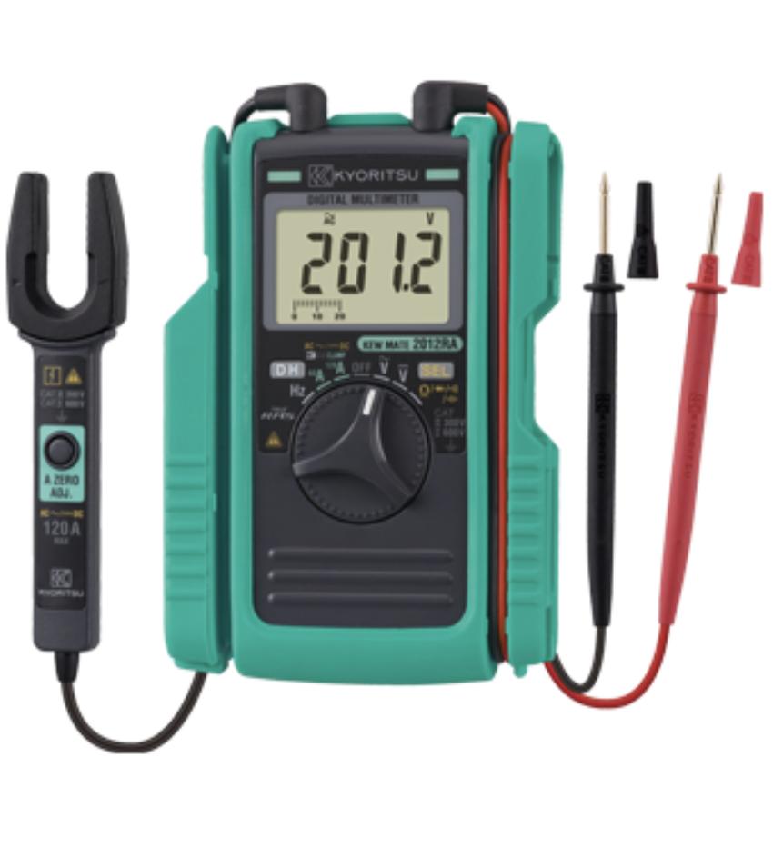 【共立電気計器】クランプ付ポケットサイズDMM 実効値タイプ『AC/DCクランプ付デジタルマルチメータ KEWMATE 2012RA』の画像
