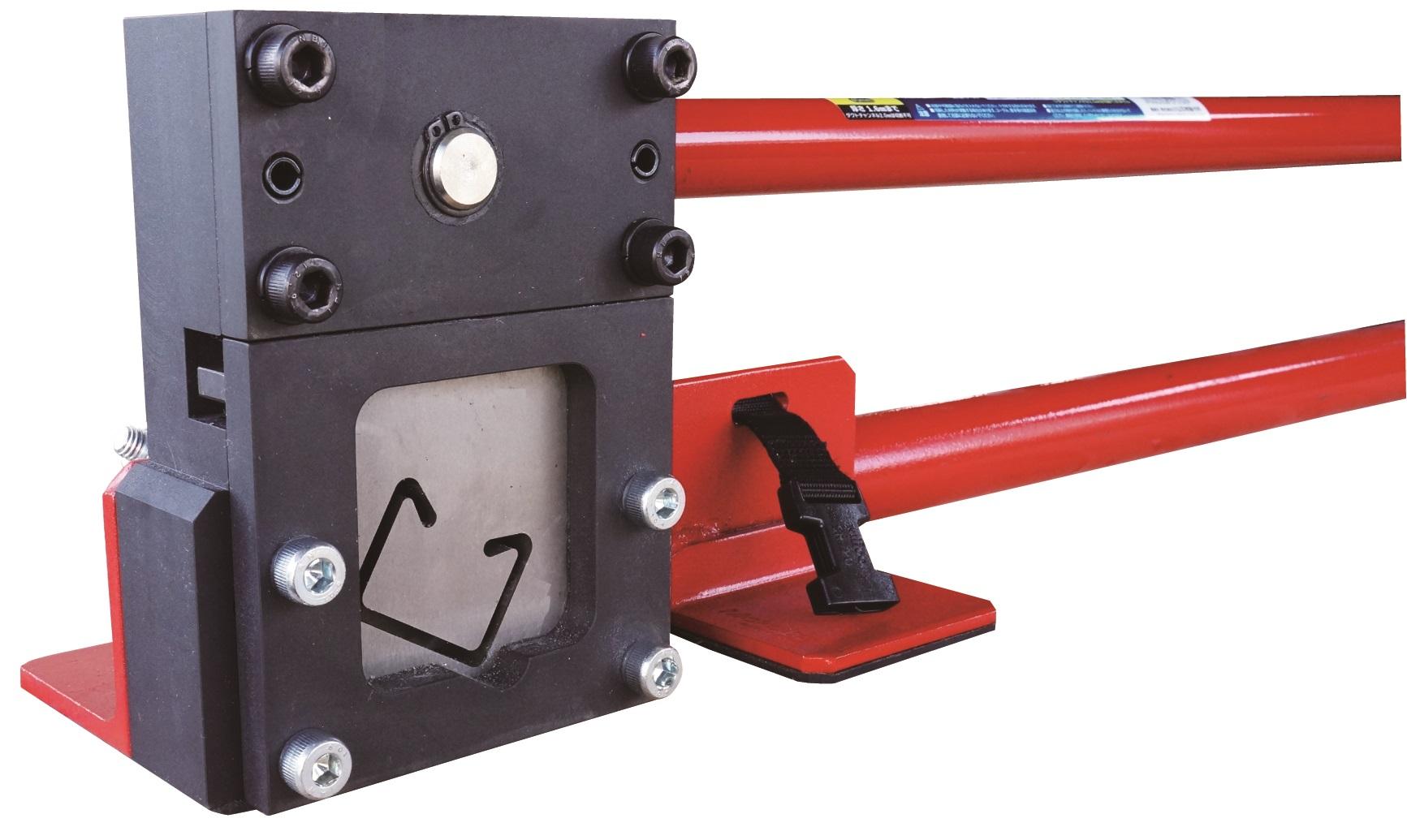 【小山刃物製作所】1台でステンレスと鉄のダクトチャンネルが切断できる!『EXレースウェイカッターWD1』の画像