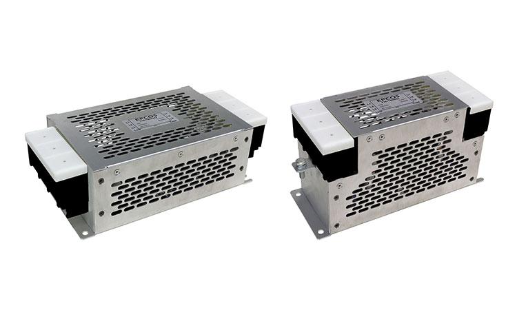 【TDK株式会社】EMC対策製品: 2形状の80~150A三相EMCフィルタB84743*R712の画像