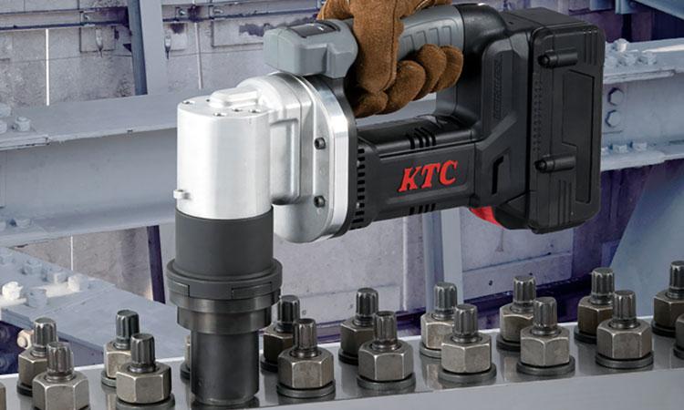 【京都機械工具株式会社】業界初!1台でM16~M24まで締付けが可能!「コードレストルシアレンチセット」を新発売の画像