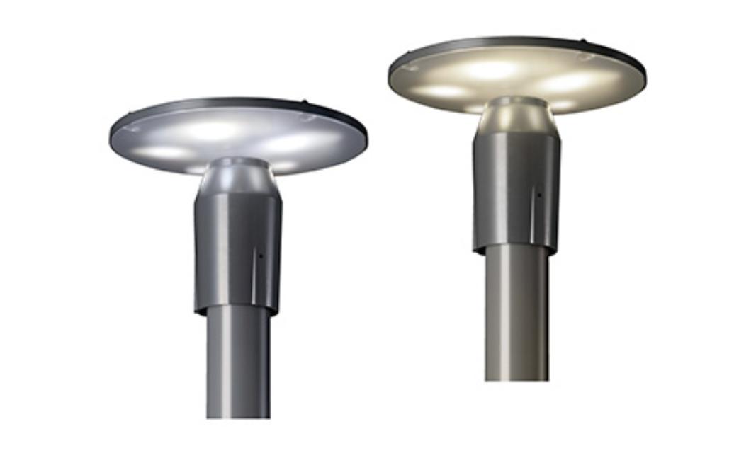 【東芝ライテック】既設のポールを活用し、手軽にLED照明へリニューアル『リニューアル工事用LED街路灯』の画像
