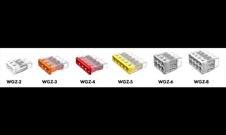【ワゴジャパン株式会社】ワゴ・差し込みコネクター 新製品「WGZ シリーズ」発売のお知らせの画像
