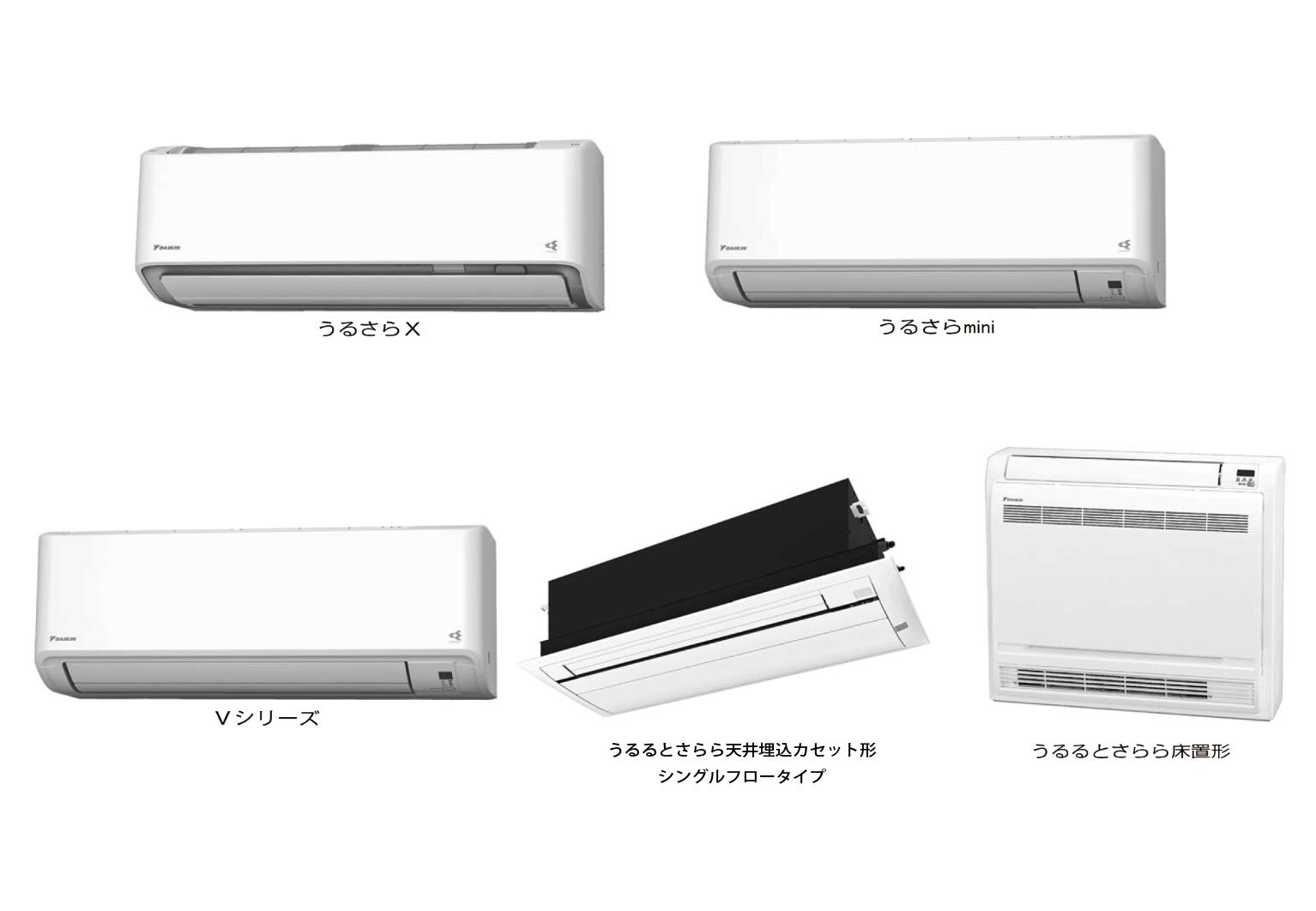 【ダイキン工業】リビングから個室まで部屋に応じて選べる ルームエアコン5製品を順次発売の画像