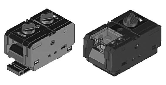 ヒロセ電機 ひねりロック解除式追加 ゼロスクリュー端子台の画像