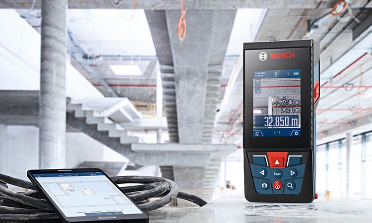 【ボッシュ株式会社】測定画面を撮影・保存できる カメラ機能搭載のレーザー距離計の画像