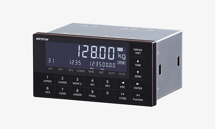 【株式会社エム・システム技研】自動切出制御機能を搭載したコンパクトサイズ DIN 144×72ミリのウェイングインジケータ W100が新登場!の画像