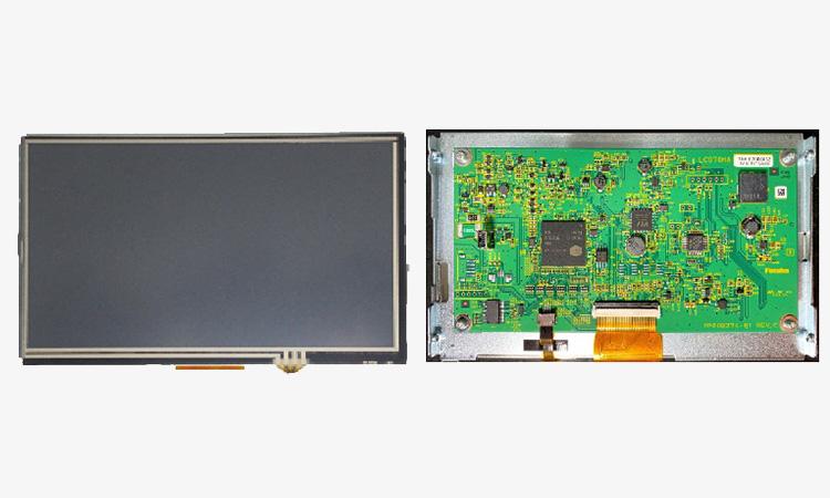 【双葉電子工業株式会社】産業用USBディスプレイ「LC070HAシリーズ」発売のお知らせの画像