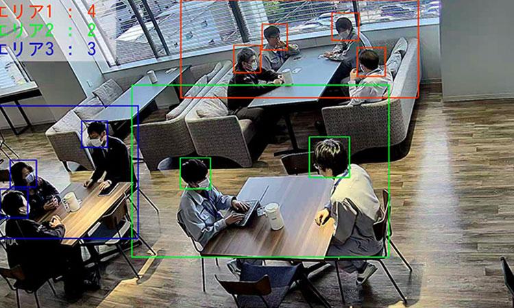 【TOA株式会社】AIカメラでプライバシー保護しながら感染症対策 「混雑状況配信ソリューション」を提供開始の画像