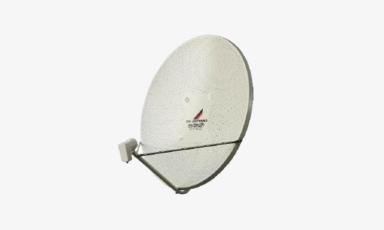 【DXアンテナ株式会社】業界トップクラスの実力(※1)!「75形BS・110度CSアンテナ(耐風速90m/s)」を新発売 共同受信用モデルを製品シリーズ化しましたの画像