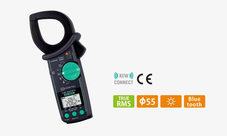 【共立電気計器株式会社】クランプパワーメータ KEW 2062BT 5月発売 ¥53,000(税込¥58,300)の画像