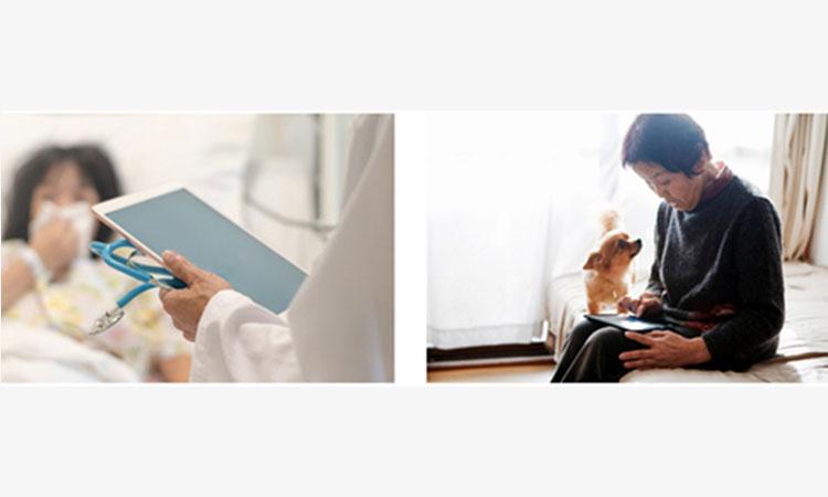 【シャープ株式会社】国立大学法人 東京医科歯科大学と 「遠隔応対ソリューション」を活用した実証実験を開始の画像