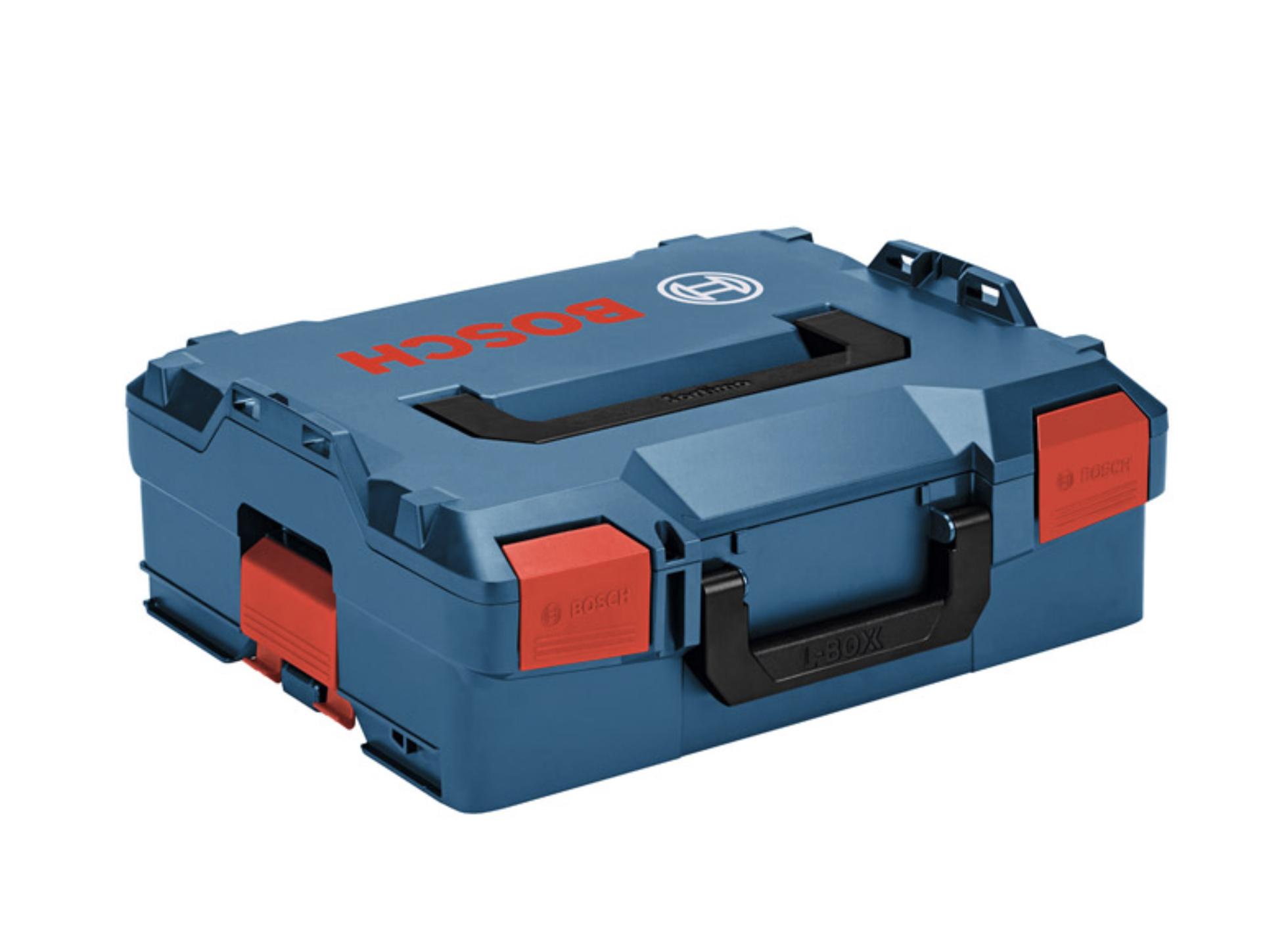 【ボッシュ】つながる!エルボックス 電動工具も先端工具も、まとめて楽にスマートに! 運べる、しまえる、取り出せる!『L-BOXX(エルボックス)シリーズ』の画像