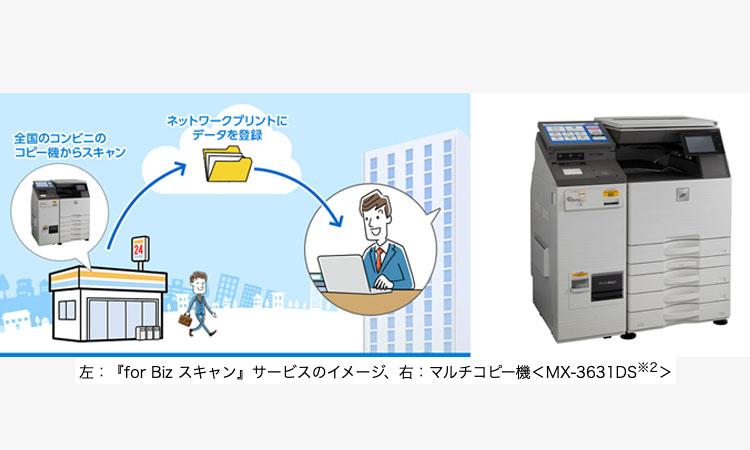 【シャープ株式会社】『for Biz スキャン<sup>※1</sup>』サービスの提供を開始の画像