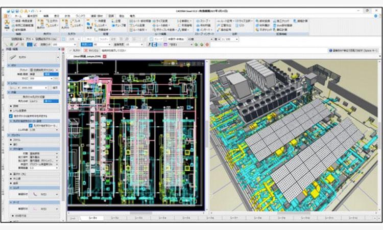 """【株式会社四電工】建築設備 CAD「CADEWA Smart V3.0」販売開始~""""BIM""""と""""利便性""""の更なる強化で、作画効率向上に貢献~の画像"""