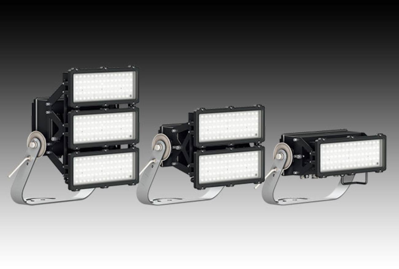 【岩崎電気】固有エネルギー消費効率166ℓm/W超の高効率LED投光器 『LEDioc FLOOD AVANT(レディオック フラッド アヴァン)』の画像